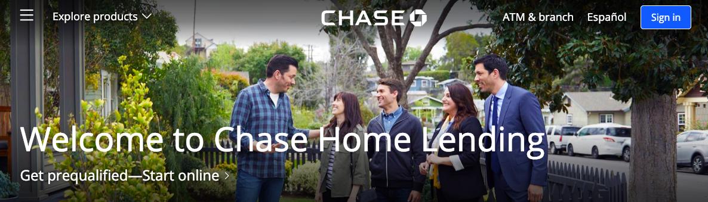 Home Lending Chase com