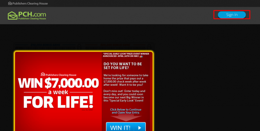 Free Online Sweepstakes SignUp