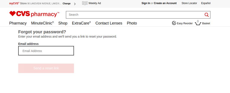My Account Retrieve Your Forgotten Password