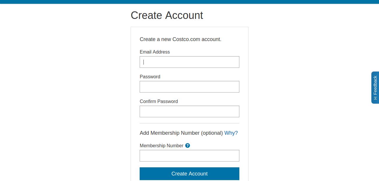 Register Account
