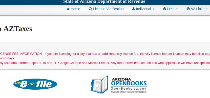 www.aztaxes.gov – Pay The Arizona State Taxes