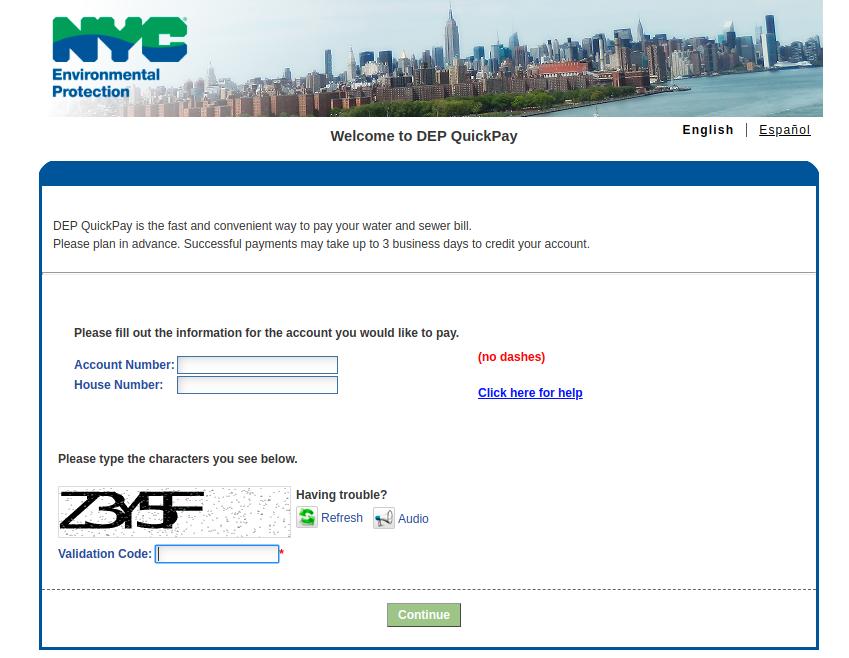 DEP Online Payment