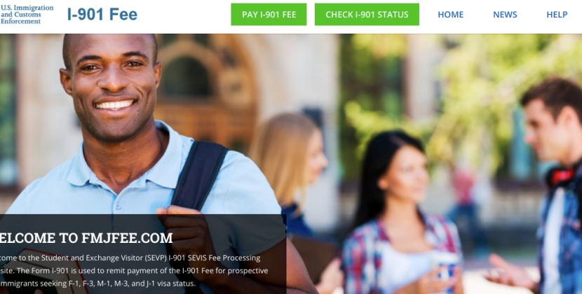 www.fmjfee.com – The SEVIS I-901 Fee Payment
