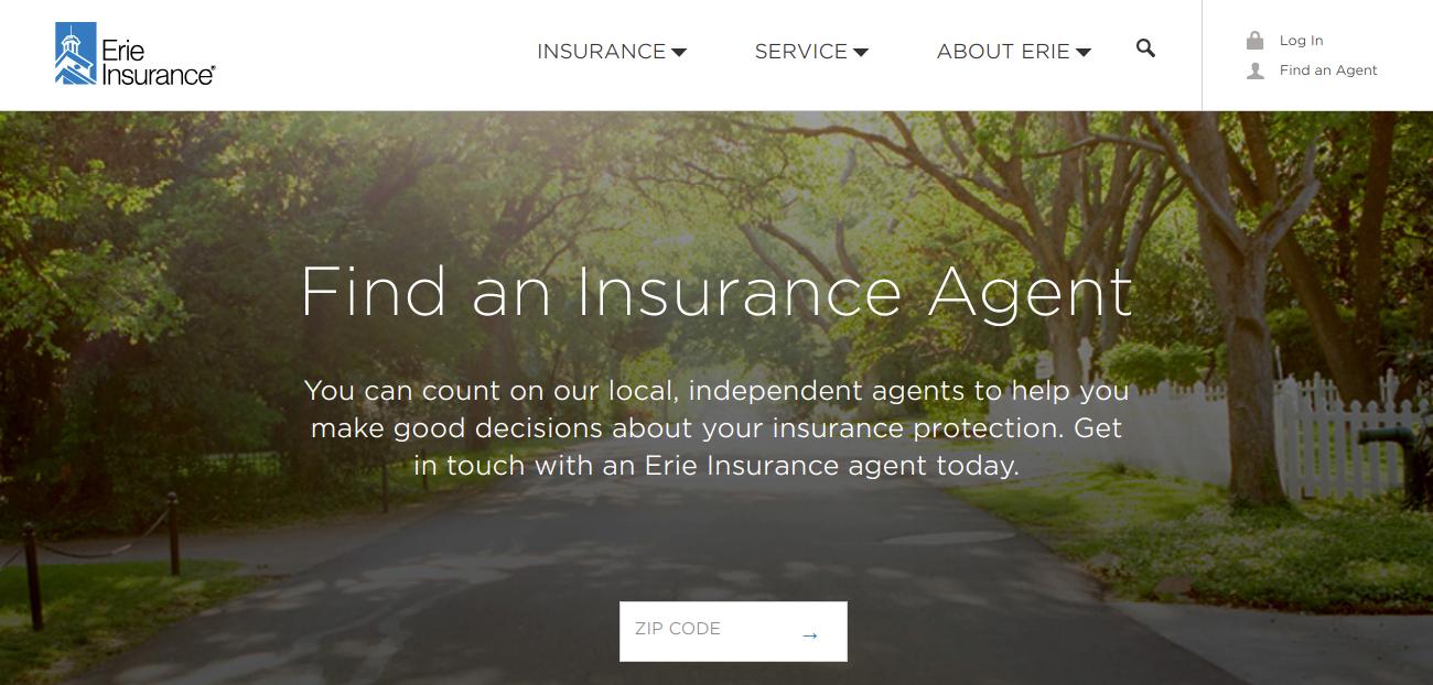 Find an Insurance Agent Erie Insurance