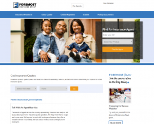 Home Insurance Quote Foremost Insurance