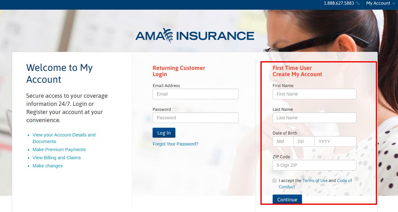 MyAccount AMA Insurance