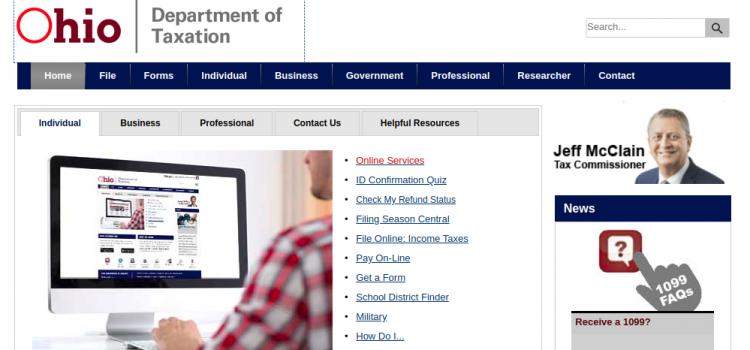 www.tax.ohio.gov – Pay Ohio Sales Taxes Online