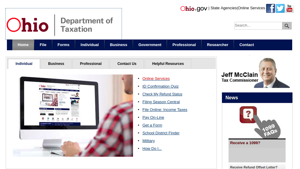 Ohio Department of Taxation Logo
