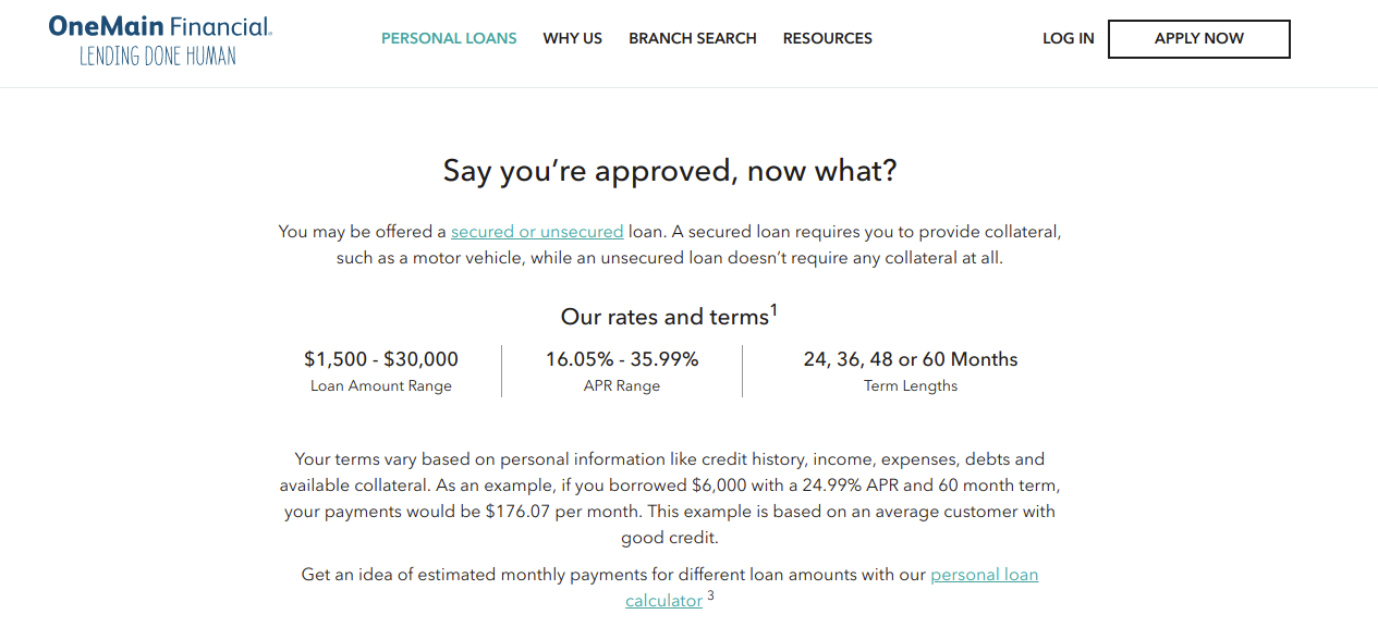 Www Onemainfinancial Com The Onemain Personal Loan Payment