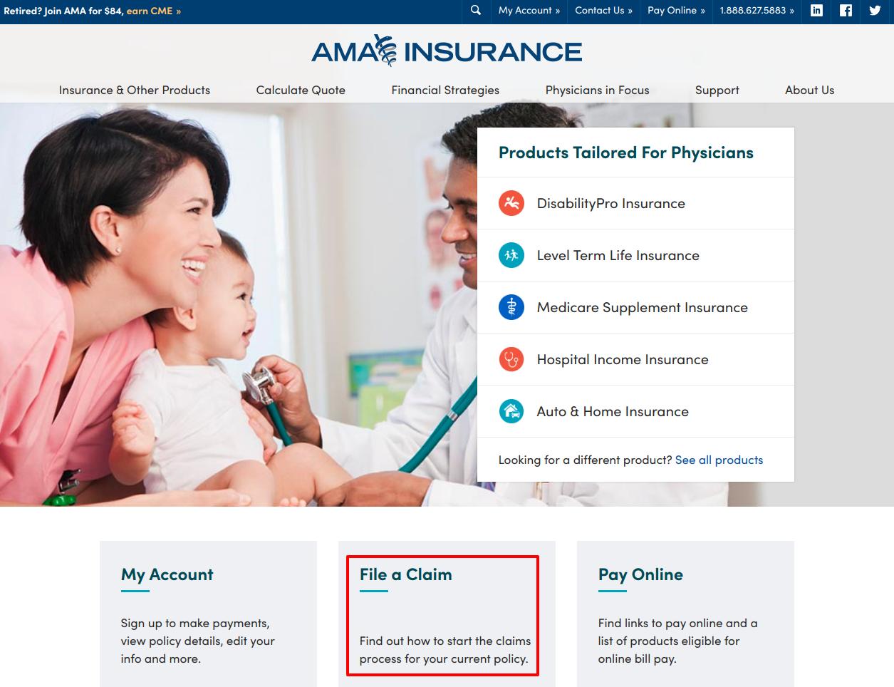 Physician Insurance AMA Insurance