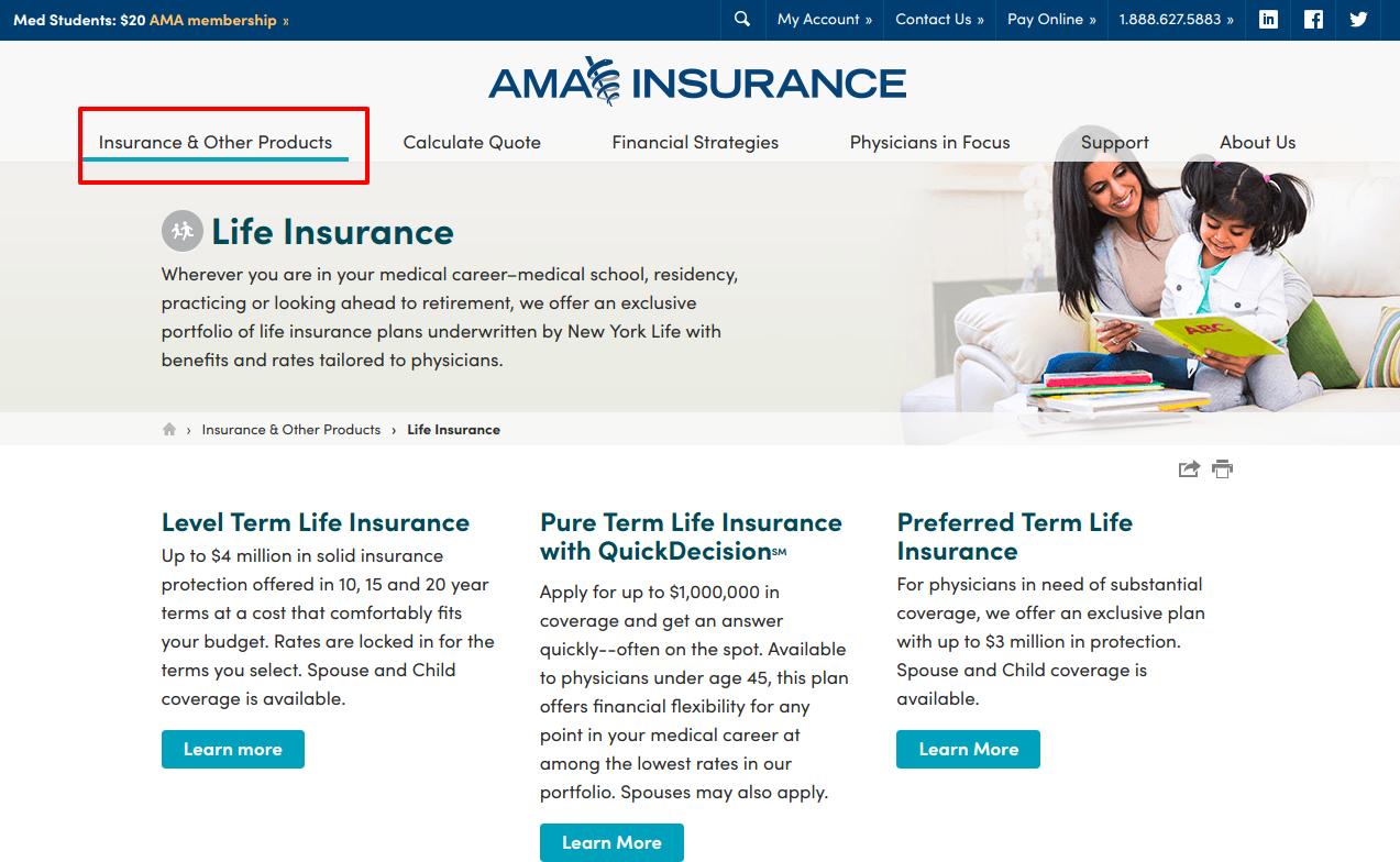 Physician Life Insurance AMA Insurance