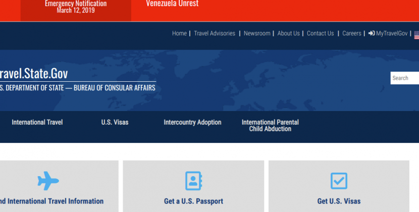www.travel.state.gov – The United States Visa Fee Payment