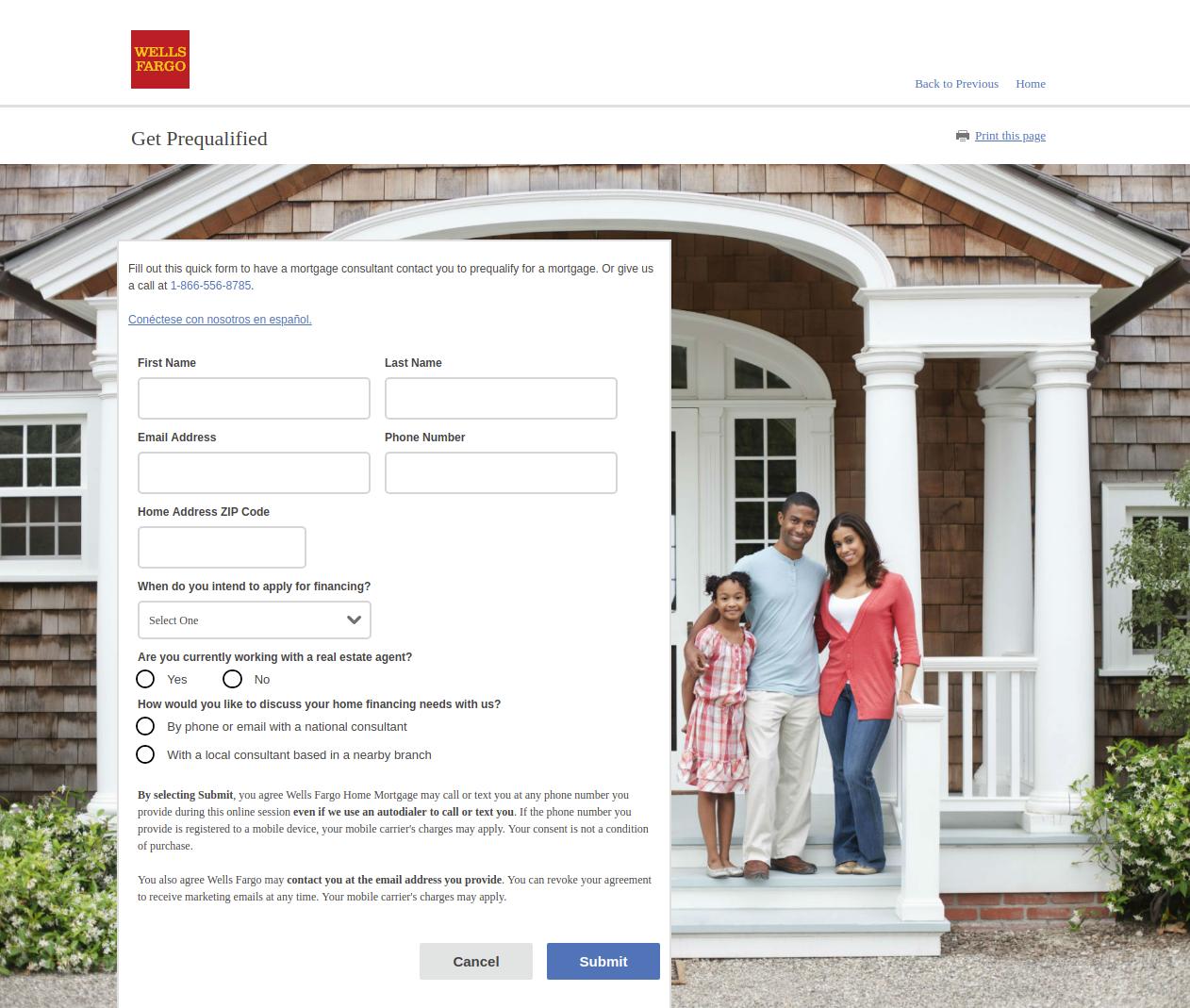 Wells Fargo Home Mortgage Program