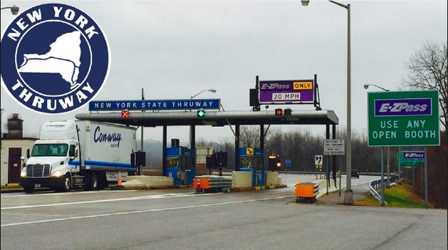 new york state thruway tolls log