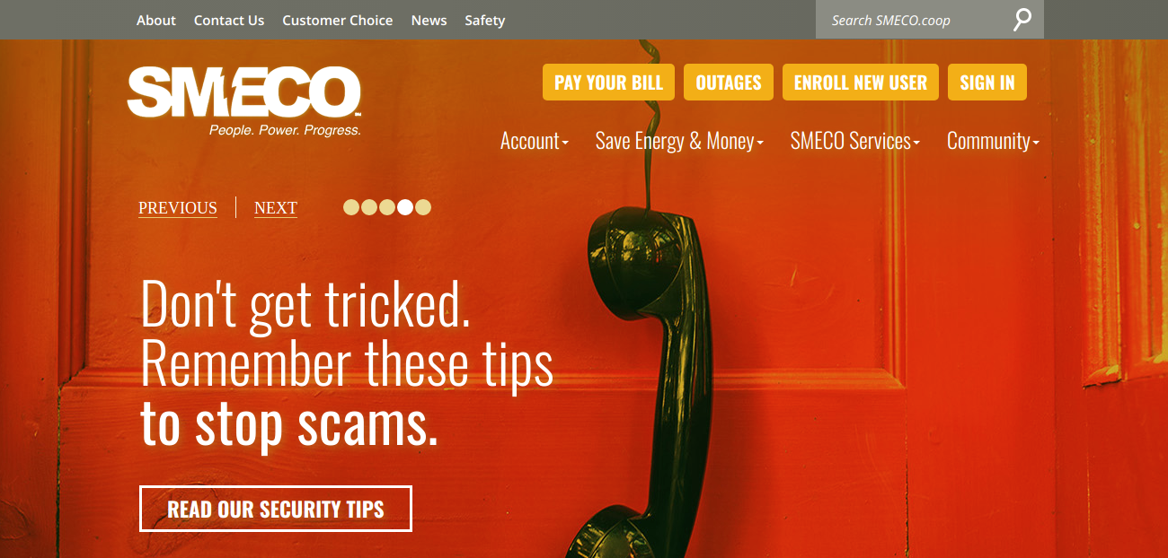 www smeco coop - The Southern Maryland Electric Bill Payment -