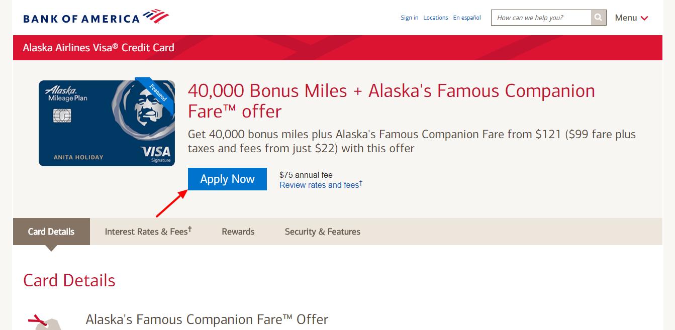 Alaska Credit Card Login >> Www Bankofamerica Com Pay The Alaska Credit Card Bill Online