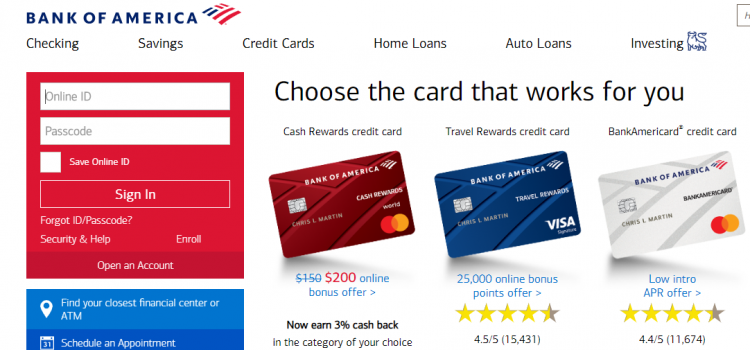 www.bankofamerica.com – How To Pay The Bank Of America Auto Loan Bill
