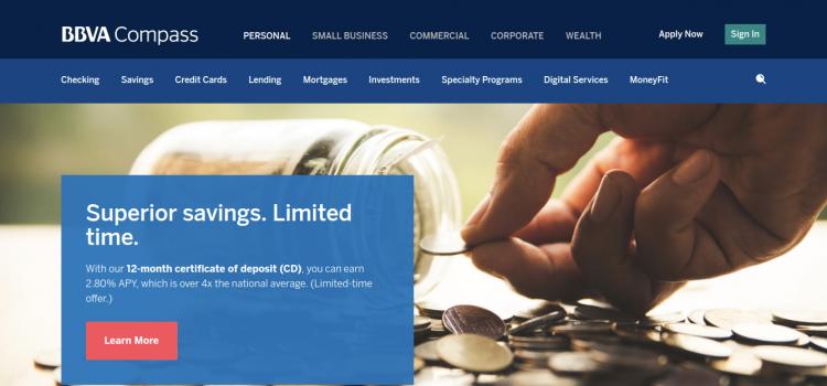www.bbvacompass.com – BBVA Compass Credit Card Online Bill Payment