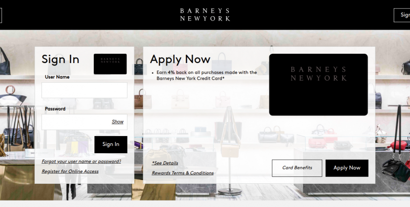 d.comenity.net/barneysnewyork – How To Apply And Pay The Barney Credit Card Bill