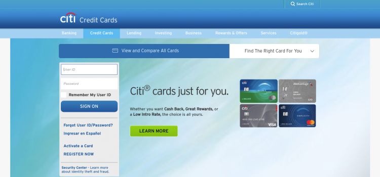 Citi Card Online Payment >> Online Citi Com How To Apply And Pay At T Credit Card Bill