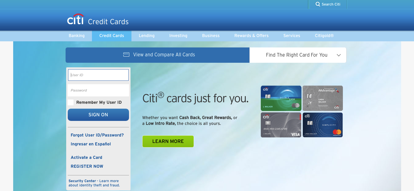 Citibank Credit Card Payment Online >> Online Citi Com How To Apply And Pay At T Credit Card Bill