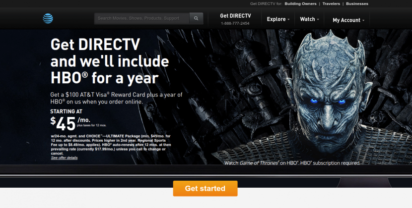 www.directv.com – How To Pay The DirecTv Bill Online