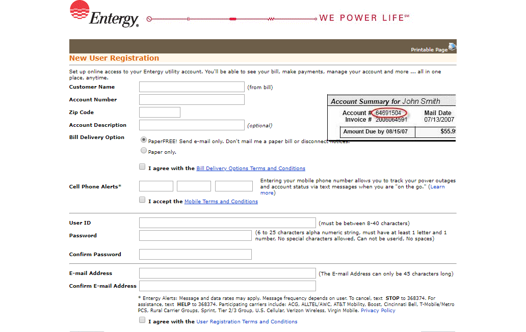 myaccount entergy com/eplus - Pay The Entergy Aknsas Bill Online -