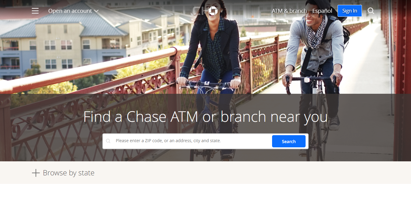 Find a Chase ATM or branch near you Chase Bank