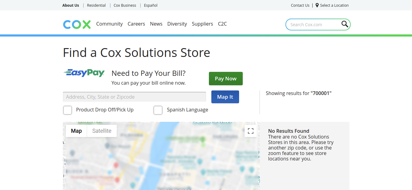 Find a Cox Solutions Store
