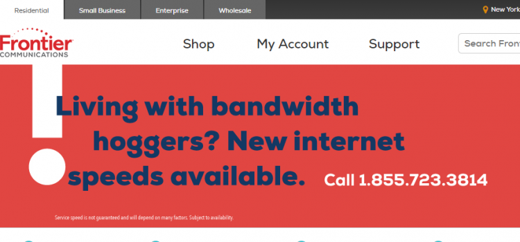 www.frontier.com – Pay The Frontier Communications Bill Online