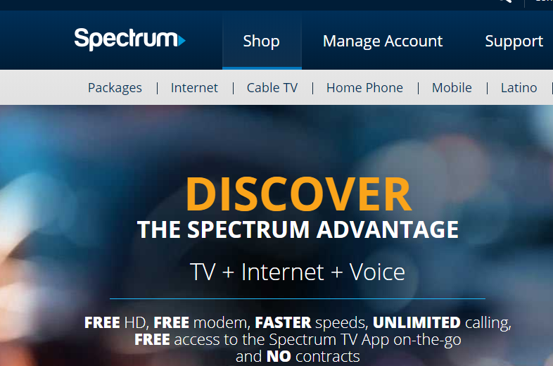 www spectrum com - Pay The Time Warner Cable Or Spectrum Bill Online -