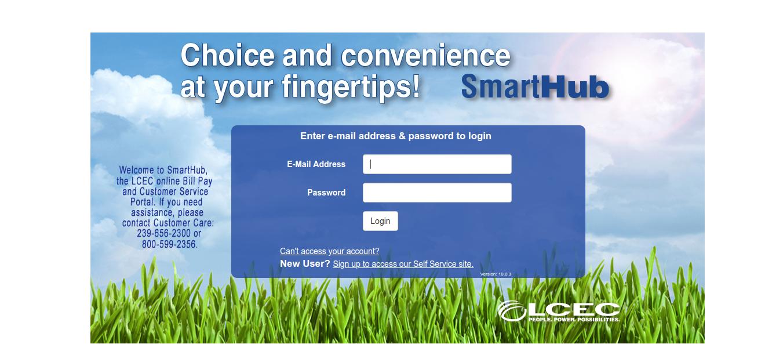 LCEC SmartHub Login