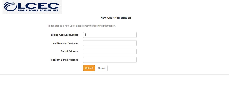 LCEC SmartHub Registration