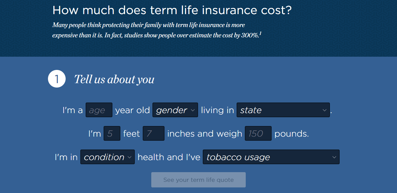 Life Insurance Find Account