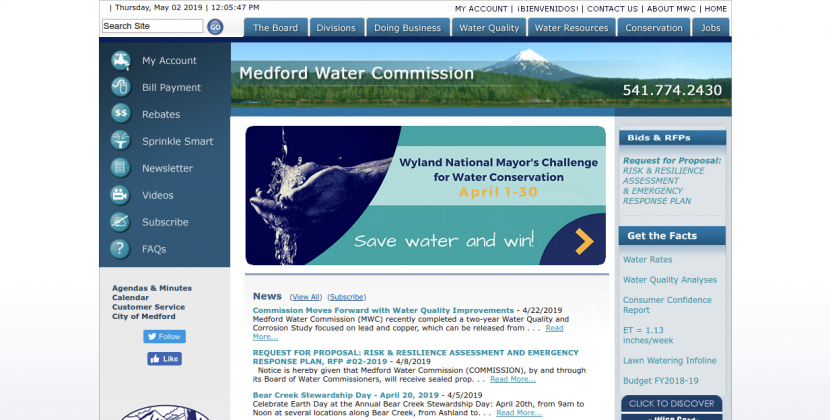 Medford Water Commission Logo
