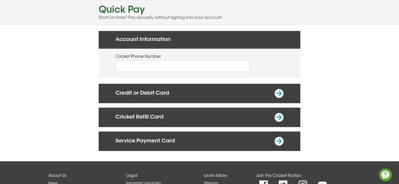 www cricketwireless com - How To Pay The Bill Of Cricket