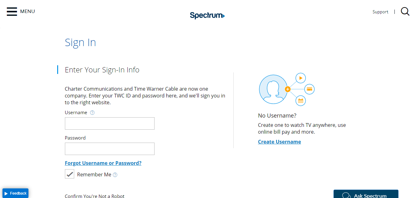 www spectrum com - Pay The Time Warner Cable Or Spectrum