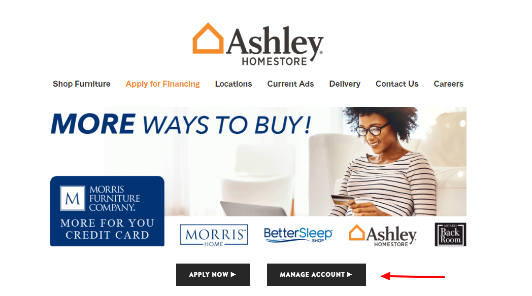Apply for Financing — Ashley HomeStore