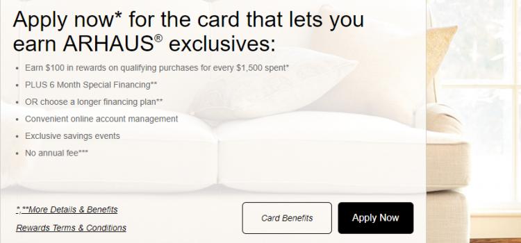 d.comenity.net/arhaus – How To Pay The Arhaus Credit Card Bill Online