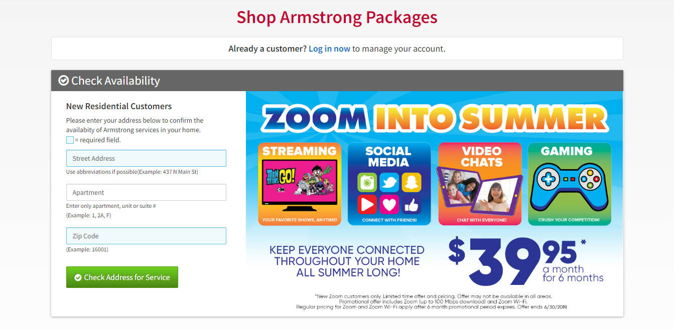 Armstrong Shop Armstrong Packages