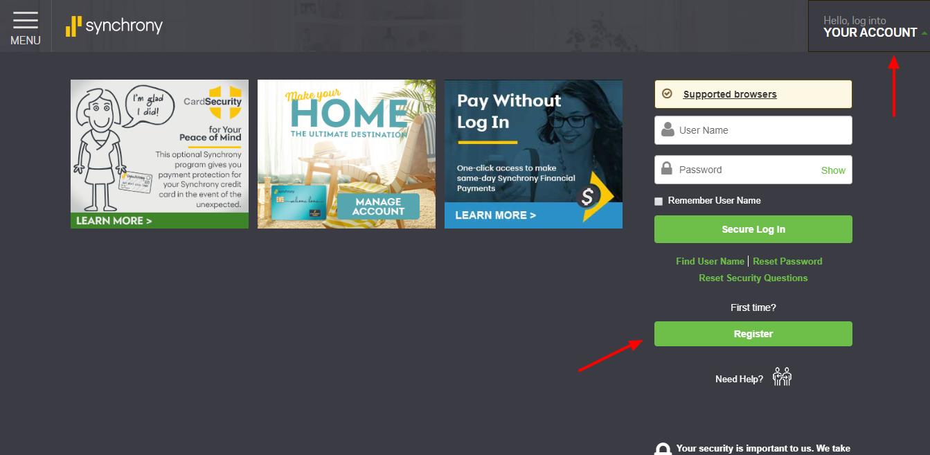 Art Van Home Furnishings Financing Synchrony