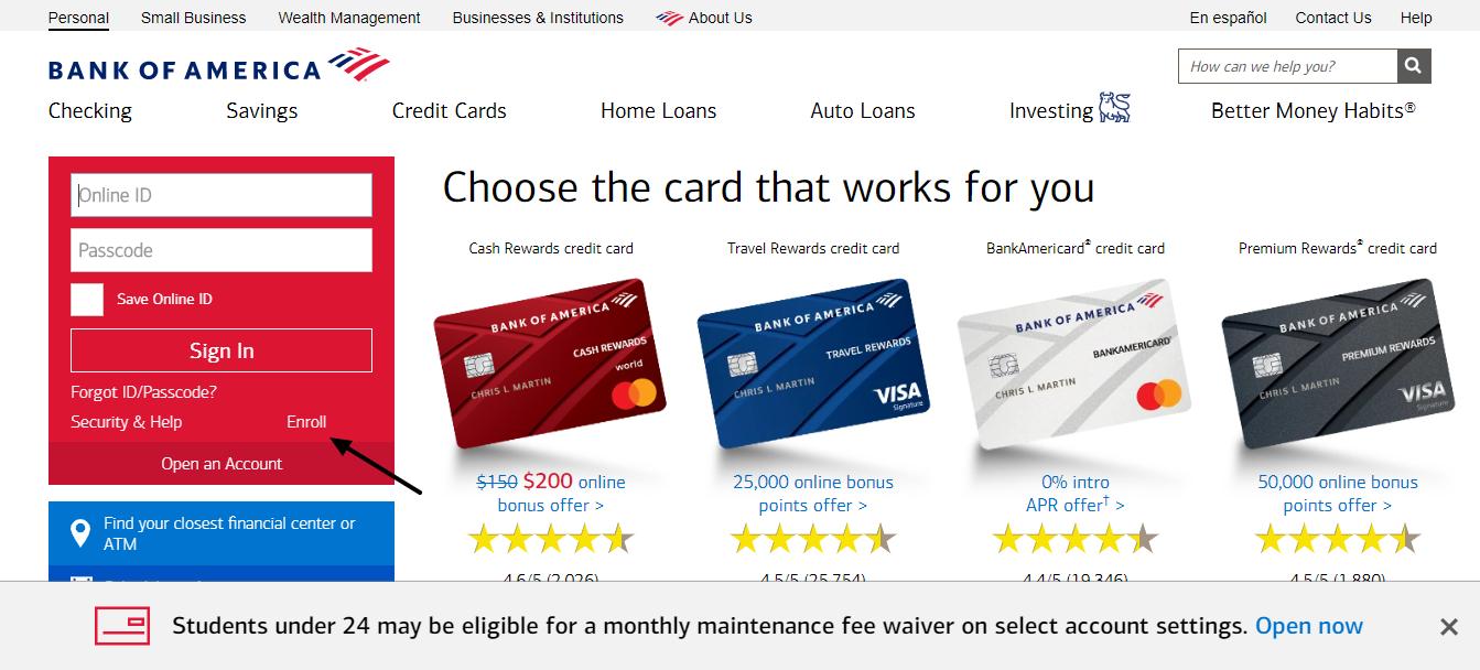 Bank-of-America-Banking-Enroll