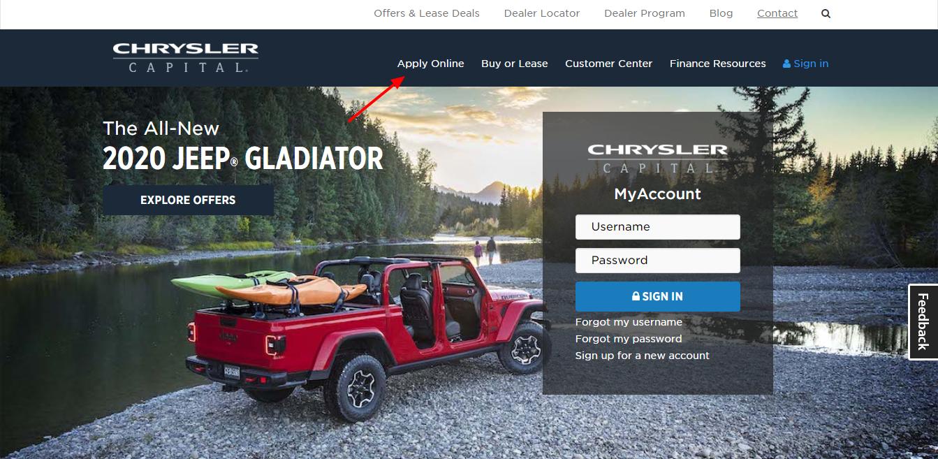 Chrysler Capital Finance >> Www Chryslercapital Com How To Pay Chrysler Capital Auto
