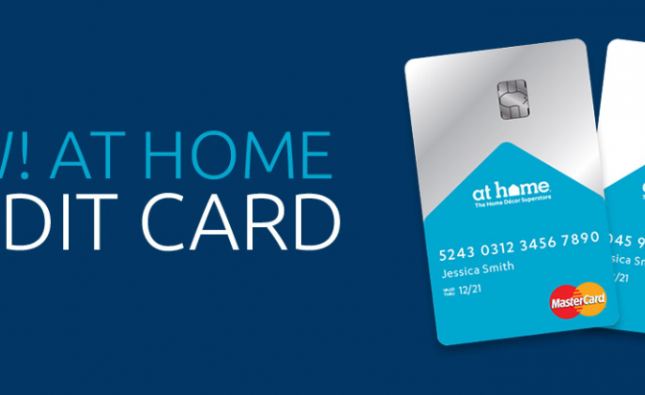 Credit Card At Home Logo