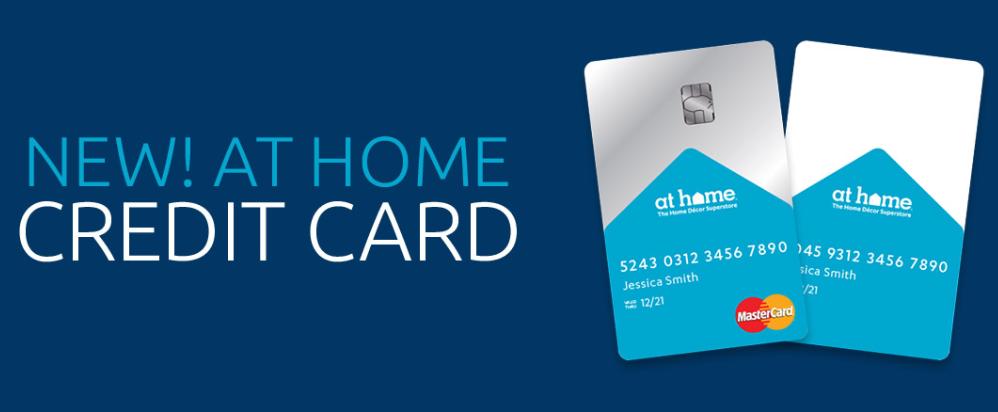 Credit Card At Home Logo