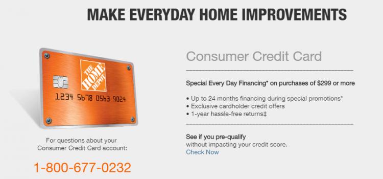 www.homedepot.com/c/Credit_Center – Payment Guide For Home Depot Credit Card Bill Online