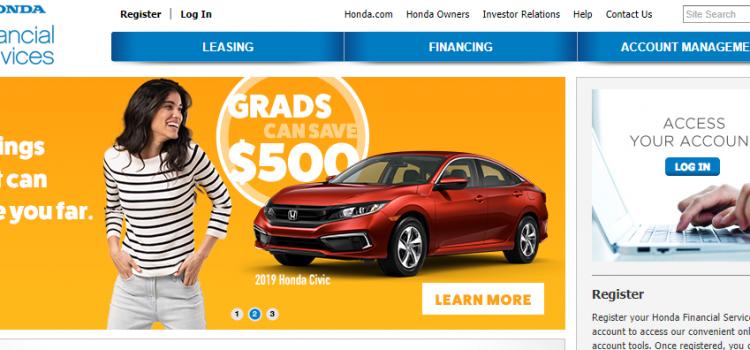 www.hondafinancialservices.com – How To Pay Honda Financial Auto Loan