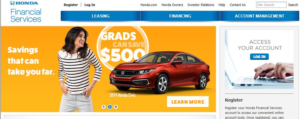 Honda Financial Service Logo