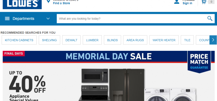 lowes.syf.com/LowesMarketing/marketing/LowesLogin.jsp – Pay The Lowe's Credit Card Bill Online