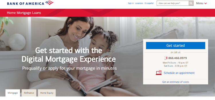 www.bankofamerica.com – How to Pay Bank Of America Mortgage Online